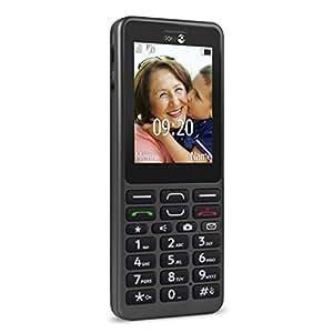 Doro PhoneEasy 509 - Terminal libre, 256 MB, color grafito