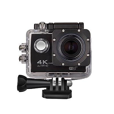 P.I.Sport N.Y. Full Ultra HD 4K étanche Wifi Caméra d'action avec audio–30m étanche–Multi Language–Design fin–Objectif g