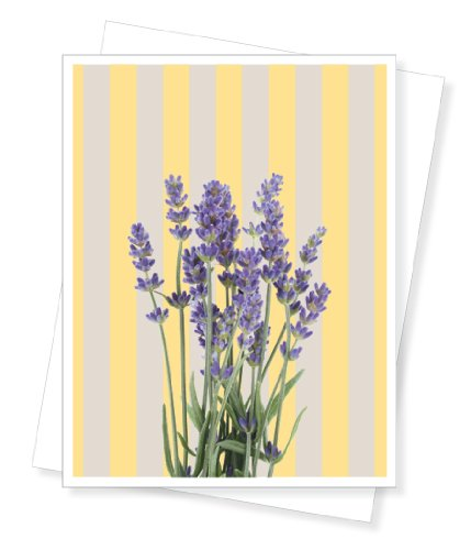 Lavender, Thinking of You, Sympathy Greeting Card