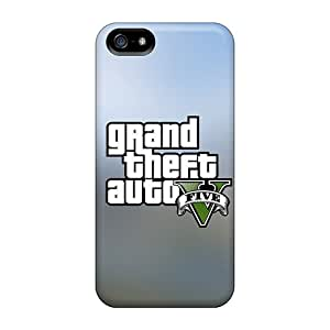 High Quality Shock Absorbing Case For Iphone 5/5s-gta V Logo