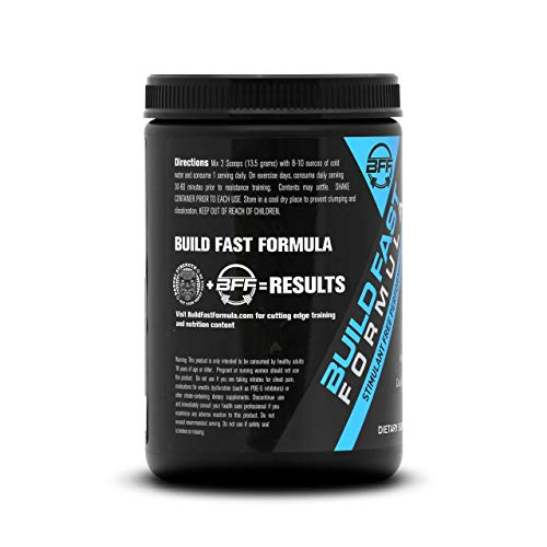 VASOBLITZ Award Winning Dual Nitric Oxide Pre Workout with NO3T Arginine Nitrate,L-Citrulline,Betaine Anhydrous,Calcium Lactate & Caffeine Free for Muscular Endurance(30 Serving, Fruit Punch)        by Build Fast Formula (Image #5)