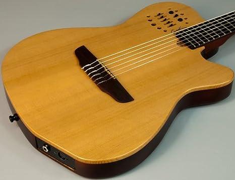 Godin acs-sa Slim multiac cedro – Guitarra acústica w Synth + ...