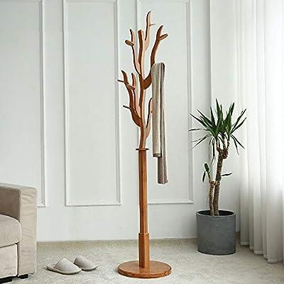 baratas para la venta bien baratas el más nuevo N/A NA Percheros Perchero de pie Perchero de bambú con Forma ...