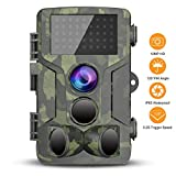 Cheap VICTONY Trail Game Camera – 1080P FHD IP65 Waterproof Scouting Camera, 120°Wide Angle PIR Sensor Motion Activated Night Vision Hunting Camera for Wildlife and Home Surveillance