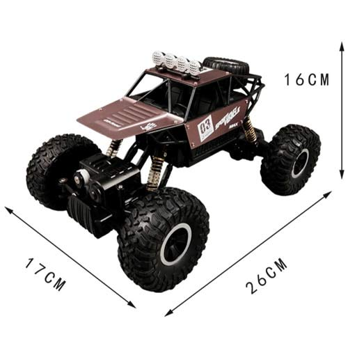 26cm  DishyKooker 1   16 Télécomhommede pour Voiture avec Radio 4 WD RC Drift High Speed Modèle Monster Truck Jouets pour Enfant Emballage renforcé
