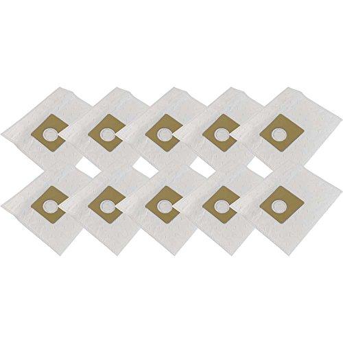 10 sacs d'aspirateur en microfibre non-tissée + 4Filtre de protection du moteur Convient pour Bosch BSD... Serie–Sphera