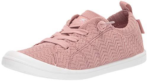 Roxy Women's Bayshore Slip On Sneaker Shoe, Mauve Wine, 9.5 M US