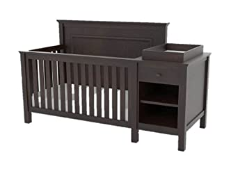 Amazoncom Lolly Me Cogan 4 In 1 Convertible Crib And Change