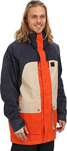 DC Men's Kingdom Jacket Dress Blue Outerwear 2XL