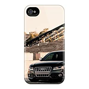 For Iphone 4/4s Premium Tpu Case Cover Audi S5 Protective Case