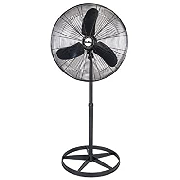 Air King 99532 Pedestal Fan, 30 3-Speed Oscillating Quiet 1/4 HP
