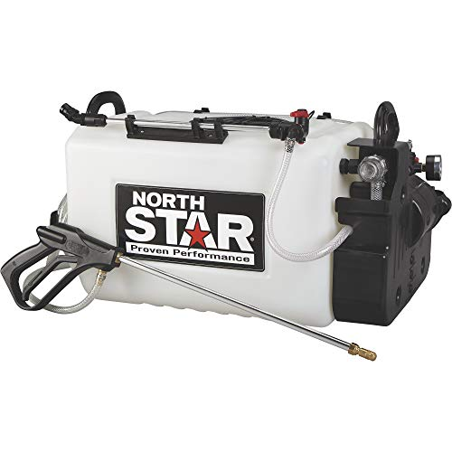 Deluxe Boom Sprayer - NorthStar Boomless Broadcast and Spot Sprayer - 16-Gallon Capacity, 2.2 GPM, 12 Volts