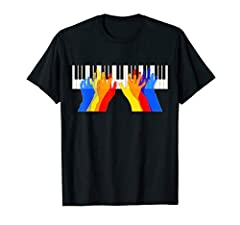 Keyboard Instrument T-Shirt for kIds who are learning to play the piano and enjoy it. Fun colors makes an awesome practice shirt, for going back to school and recitals. Colorful Fun Keyboard Piano Boys & Girls  Gift T-shirt is perfect for...