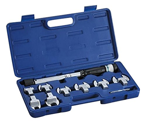 YELLOW JACKET 60652 Eight Head Torque Wrench Kit by Yellow Jacket