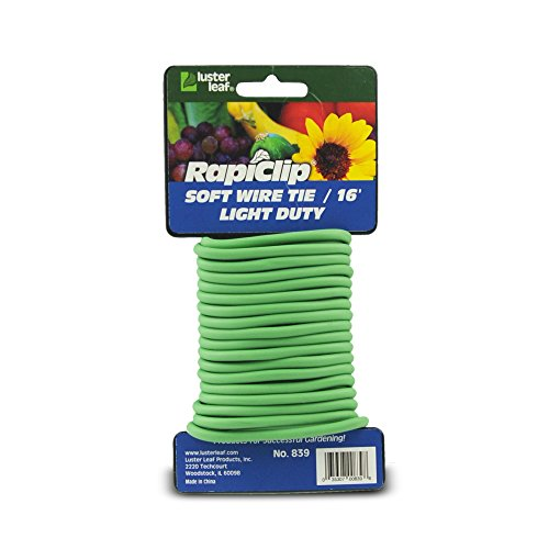 (Luster Leaf Rapiclip Light Duty Soft Wire Tie 839)