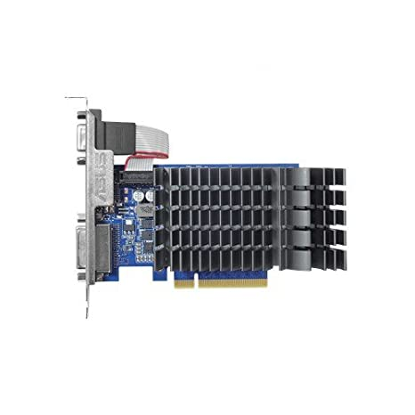 ASUS GT730-SL-2G-BRK-V2 - Tarjeta gráfica (GeForce GT 730, 2 GB, GDDR3, 64 bit, 2560 x 1600 Pixeles, PCI Express 2.0)