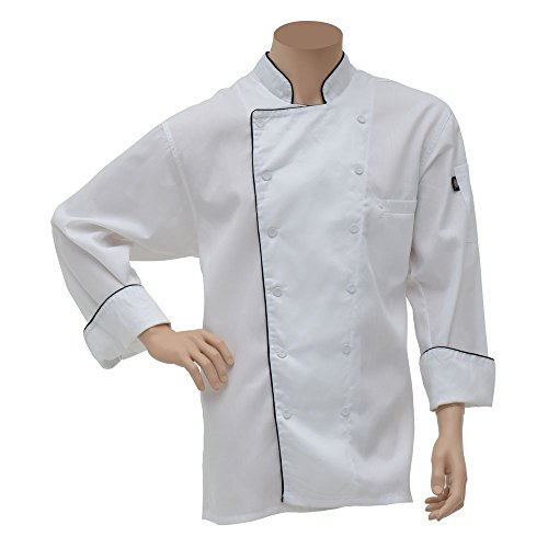 Dickies Executive Chef Coat White