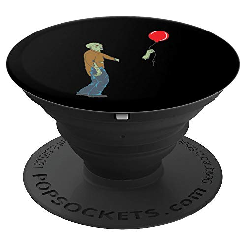 Funny Zombie Balloon Halloween Costume PopSockets Grip and Stand for Phones and Tablets]()