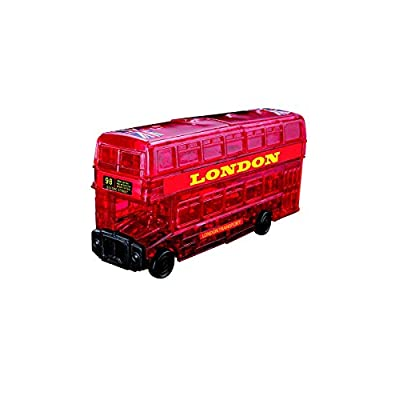 Original 3D Crystal Puzzle - London Bus: Toys & Games