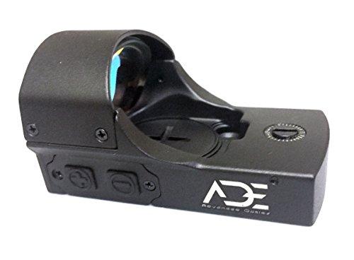 Ade Advanced Optics RD3-011A-1 Premium Grade 1x22x33 Red Dot Sight Individual Brightness Up & Down Switches