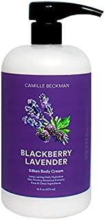 product image for Camille Beckman Silken Body Cream, Blackberry Lavender, 16 Ounce