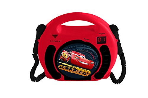 Lexibook Disney Pixar Cars 3 Lightning McQueen Radio CD, Programming...