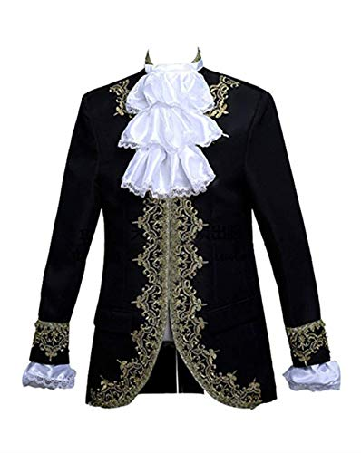 French Aristocrat Costume - Suxiaoxi Nobility 2 Pieces Tuxedo Groom