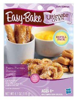 Easy-Bake Ultimate Oven Party Pretzels Refill Pack, 4.1 oz by Easy Bake