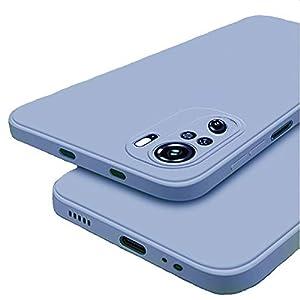 Winble Soft Silicon Protective Camera Protection Back Cover Designed for Redmi Note 10 / Redmi Note 10s (Grey)