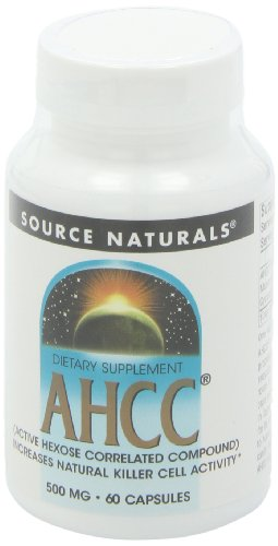 SOURCE NATURALS Ahcc Active Hexose Correlated Compound 500 Mg Capsule, 60 Count by Source Naturals (Image #8)