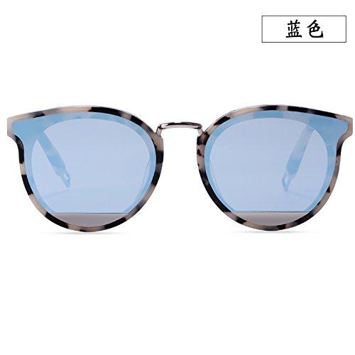 Sol gafas Hombres Llztyj Black viento Negro De coche decoración mujeres Sol gafas regalo gafas Redonda Gafas luz cumpleaños Cara Sol v6xq4Fv
