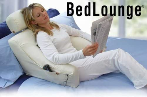 Supportive BedLounge Reading Cushion with Pockets