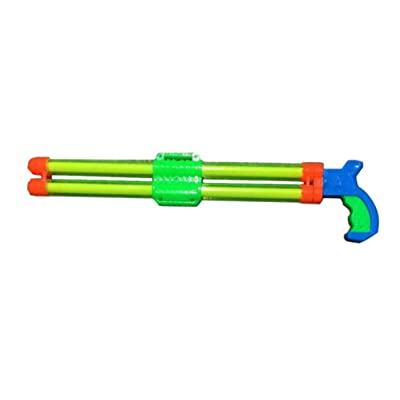 NUOBESTY Water Blaster Toy Pull-Out Double-barreled Water Shooter Toy Water Soaker Swimming Pool Squirt Toy for Summer (Random Color 51cm): Toys & Games [5Bkhe0905104]