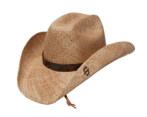 Stetson River Run - Shapeable Straw Cowboy Hat ()