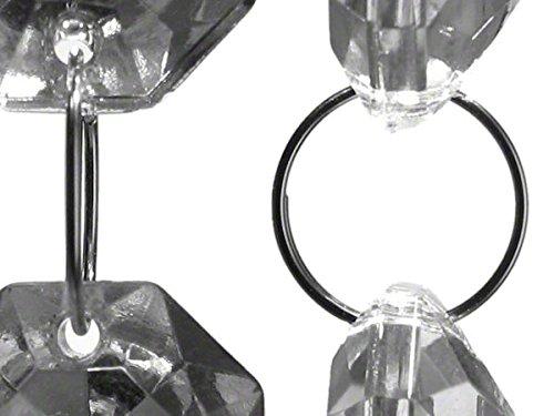 Kronleuchter Verbinder ~ Kristall verbinder ring Ø mm chrom kronleuchter lüster