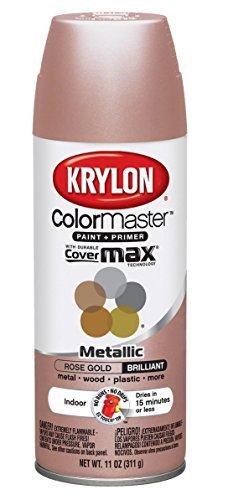 Krylon Metallic Rose Gold Spray (2 Pack)