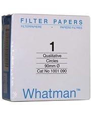 Whatman 1001-090 Whatman 1001-090 Qualitative Filter Papers; 9.0 cm Diameter; Pore Size, 11 µ (Pack of 100)