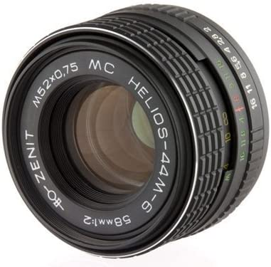 Helios 44/M-6/58/mm F2/Lente sovi/ética M42
