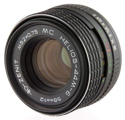Amazon com : Helios 44M-6 58mm F2 Soviet-made Lens M42 mount