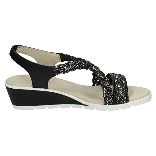 MADE IN SPAIN 926 SANDALIAS PLANTA GEL MUJER NEGRO
