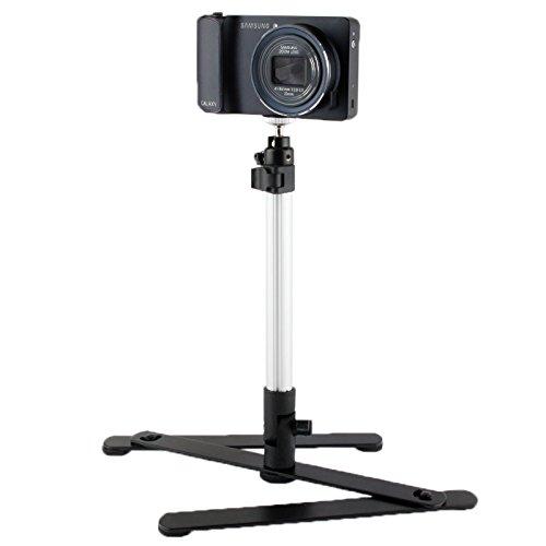 Camera 360 Degree Rotational Multi-Angle Macro Shooting Bracket for Digital Camera(Black) by JUNXI