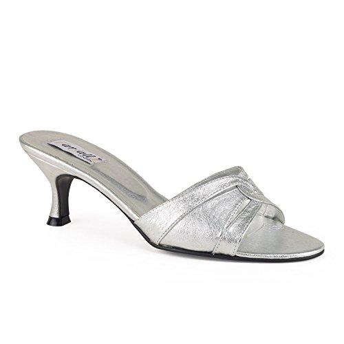 FARFALLA - Zapatos con tacón mujer Plateado - plata