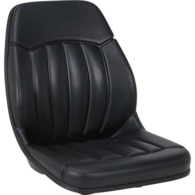 K & M Uni Pro 175 All-Weather Industrial Seat - Black, Model# 7489 ()