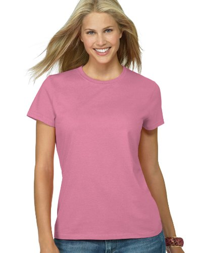 Hanes Women's Nano T-Shirt, XX-Large, Pink