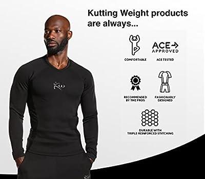 Kutting Weight Sweat Shirt Weight Loss All-Black Long-Sleeve Shirt