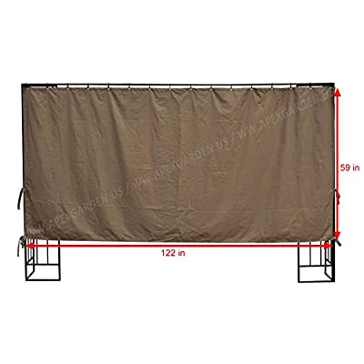APEX GARDEN 10 ft Privacy Panel (Side Wall Panel Only): Garden & Outdoor