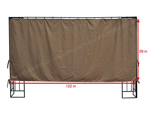 APEX GARDEN 10 ft Privacy Panel (Side Wall Panel Only) by APEX GARDEN (Image #1)