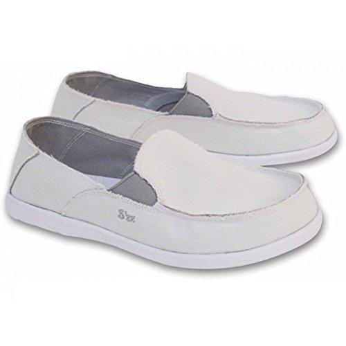 FemmeRosalie Chaussure Blanc Toile Schu'zz Toile Schu'zz Chaussure wnOPk0