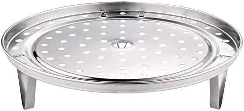 ouying1418 Acier Inoxydable Maison Vapeur Ronde Cuit /Ã/€ La Vapeur Brioches Dumplings Haut Cuit /Ã/€ La Vapeur