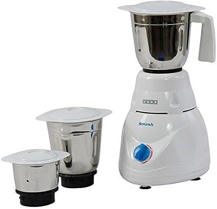 Buy Usha Smash Mixer Grinder (MG-2853) 500-Watt 3 Jars (White) Online at Low Prices in India - Amazon.in